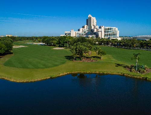 Hawk's Landing Golf Club at the Orlando World Center Marriott Course